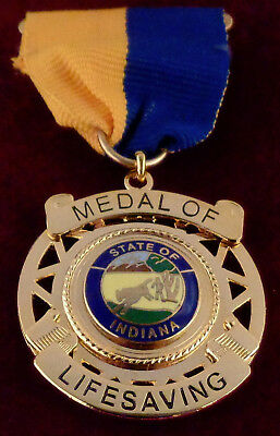 MEDAL OF LIFESAVING State of New Jersey NJ Award police//sheriff//fire//EMS