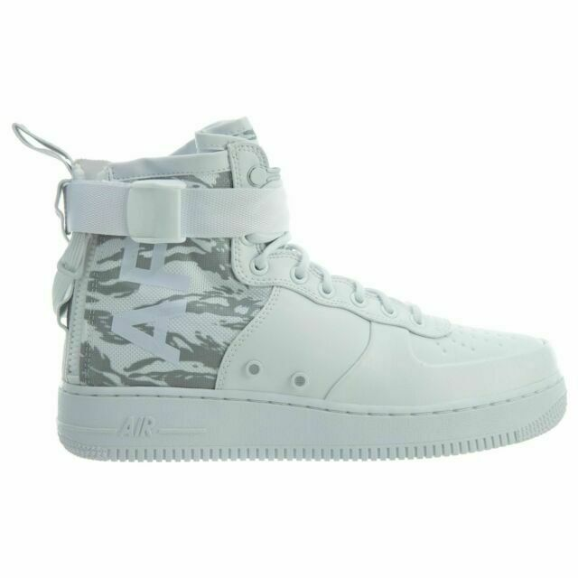 Size 8.5 - Nike Sf Air Force 1 Mid Winter Camo 2017 for sale ...