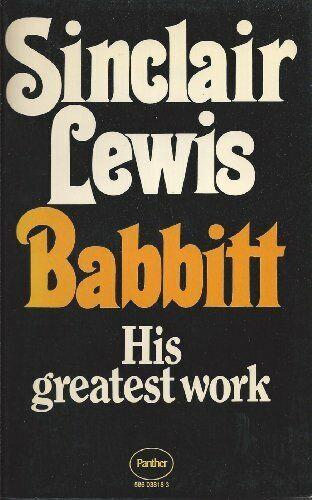 Babbitt,Sinclair Lewis- 586038183