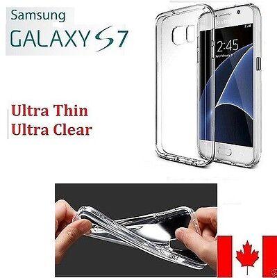 Samsung Galaxy S7 Case Ultra SlimTransparent Clear Soft Cover SM-G930