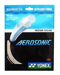 Genuine-Yonex-Aerosonic-BG-AS-Badminton-String-10m-White-Free-UK-P-amp-P