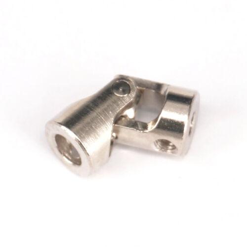 Lot5 Multiple Size Cross Universal Joint Mini Cardan Coupling Rotation 45 Degree