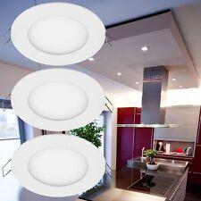 3 x  LED 5W Decken Einbau Leuchten ALU Strahler Rund EBL Spot Lampen PAULMANN