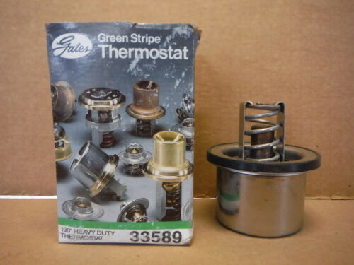 Gates Thermostat 33589 190 Degree Automotive Heating Cooling