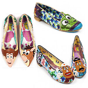 9fae6e05a57a Irregular Choice Keep Em Together Women Flat Shoes Size UK 3 - 8 ...