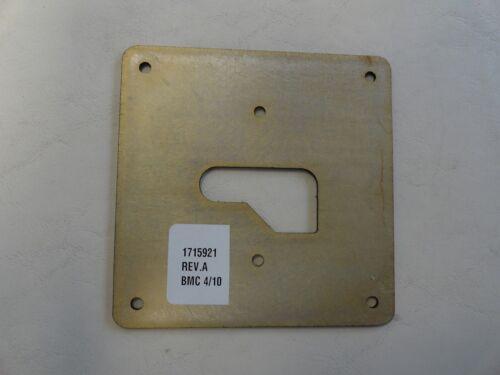 """WINDLASS ANCHOR BREAKER PLATE 1715921 ALUMINUM 4 1//2/"""" X 4 1//2/"""" BLACK MARINE BOAT"""