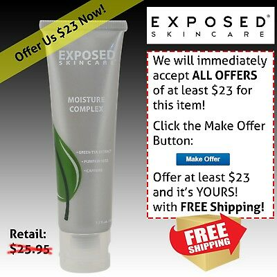 Pleasant To The Palate Painstaking Exposed Skin Care Moisture Complex Exp: 2/21 Factory Sealed 1.7 Ounces