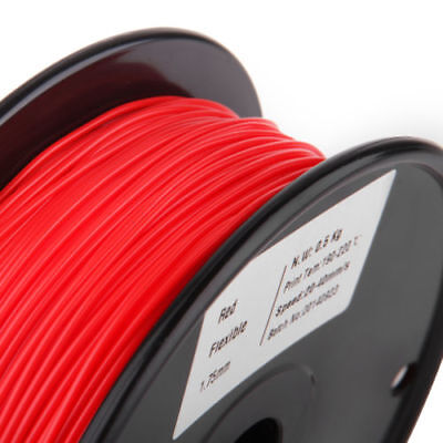 4pk RED Color 3D Printer Filament 1kg//2.2lb 1.75mm PLA MakerBot RepRap