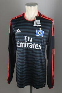 HSV-camiseta-Hamburger-SV-talla-6-7-8-M-L-adidas-adizero-hamburgo-jugador-version