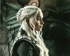 Emilia-Clarke-Autographed-signed-8-x-10-photo