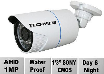IR Vision 720P 1MP AHD Bullet Security Camera IP66 CCTV WaterProof