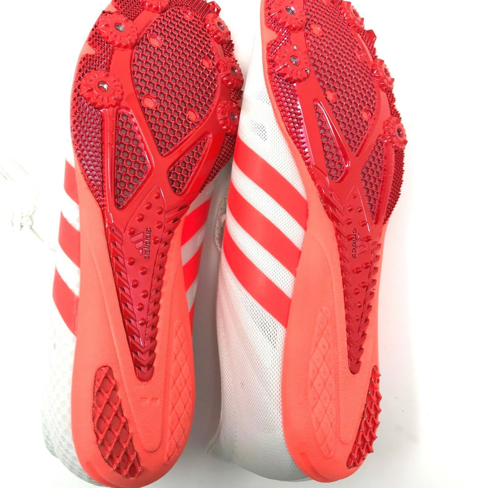 Adidas Women's Adizero Ambition Ambition Ambition 3 W Track shoes BA8438 SZ 11 White Neon orange 6ee360