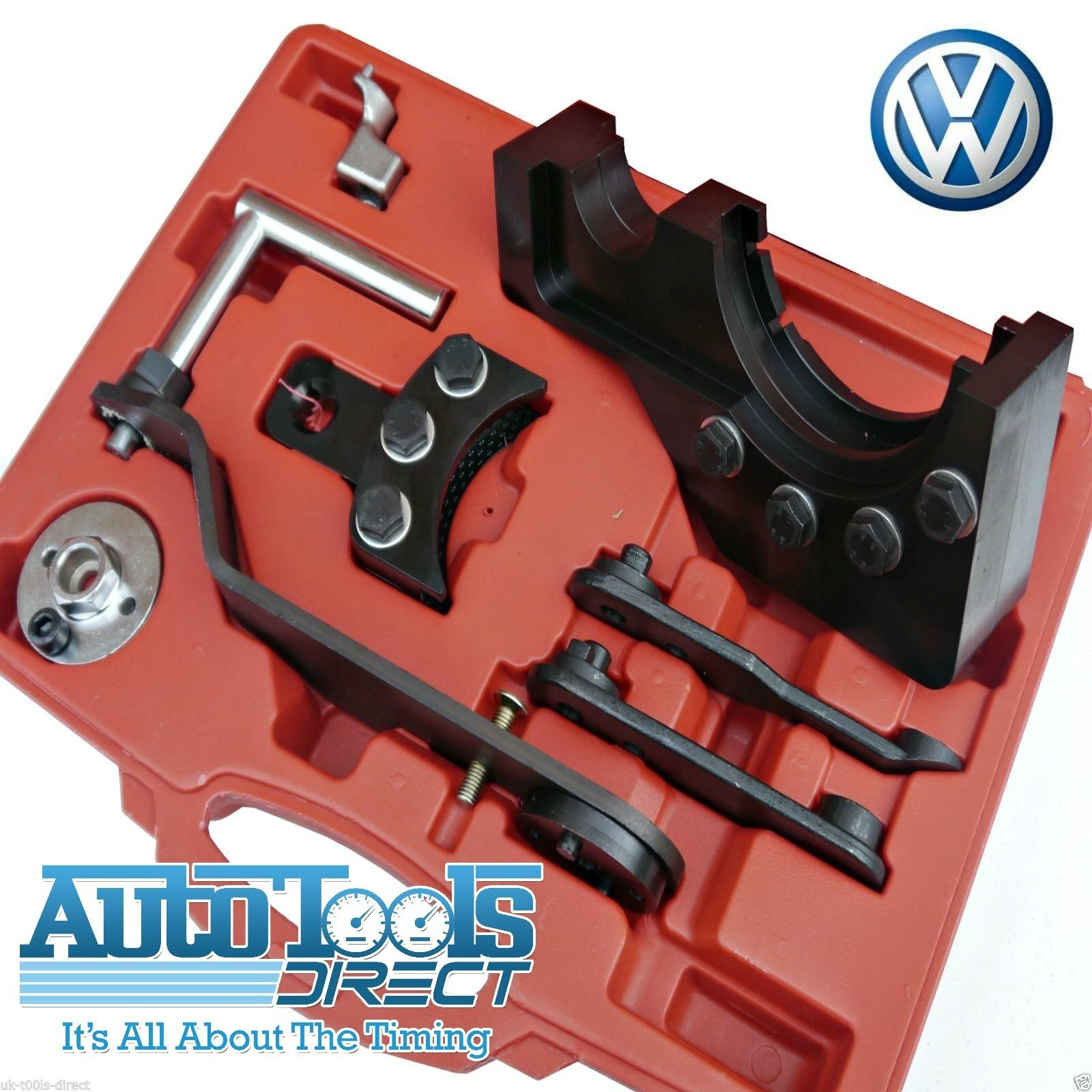 Vw 1600 Engine Removal: Volkswagon VW Transporter T5 Timing Tool Set Kit 2.5 Tdi