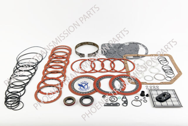 TURBO 350 TH350 Transmission Performance Rebuild Kit Alto Red Frictions - Band