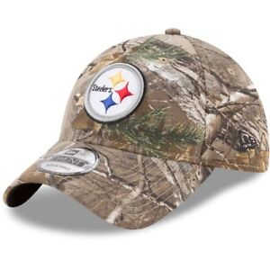 Image is loading New-Era-Pittsburgh-Steelers-Realtree-Camo-Realtree-9TWENTY- 37726234b