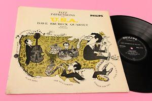 DAVE-BRUBECK-QUARTET-LP-JAZZ-IMPRESSIONS-ORIG-UK-039-60-TOP-JAZZ