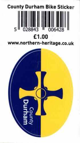 County Durham Flag Bike Sticker