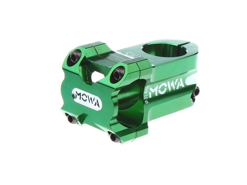MOWA Mars Mountain Bike MTB Bicycle Stem for AM FR DH 31.8mm 60mm 198g Green