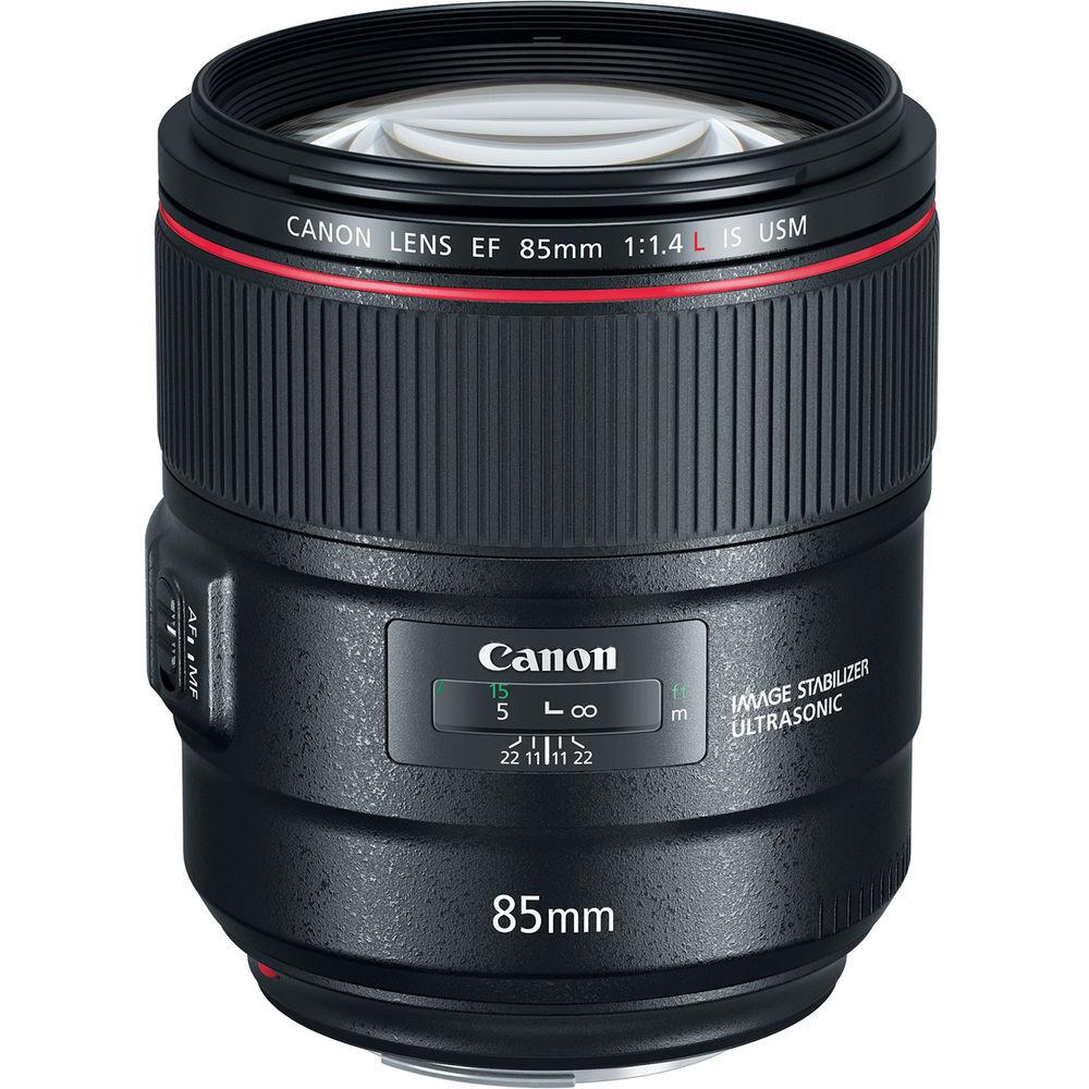 Canon 85mm f/1.4L IS USM Fixed Prime Digital SLR Camera Lens