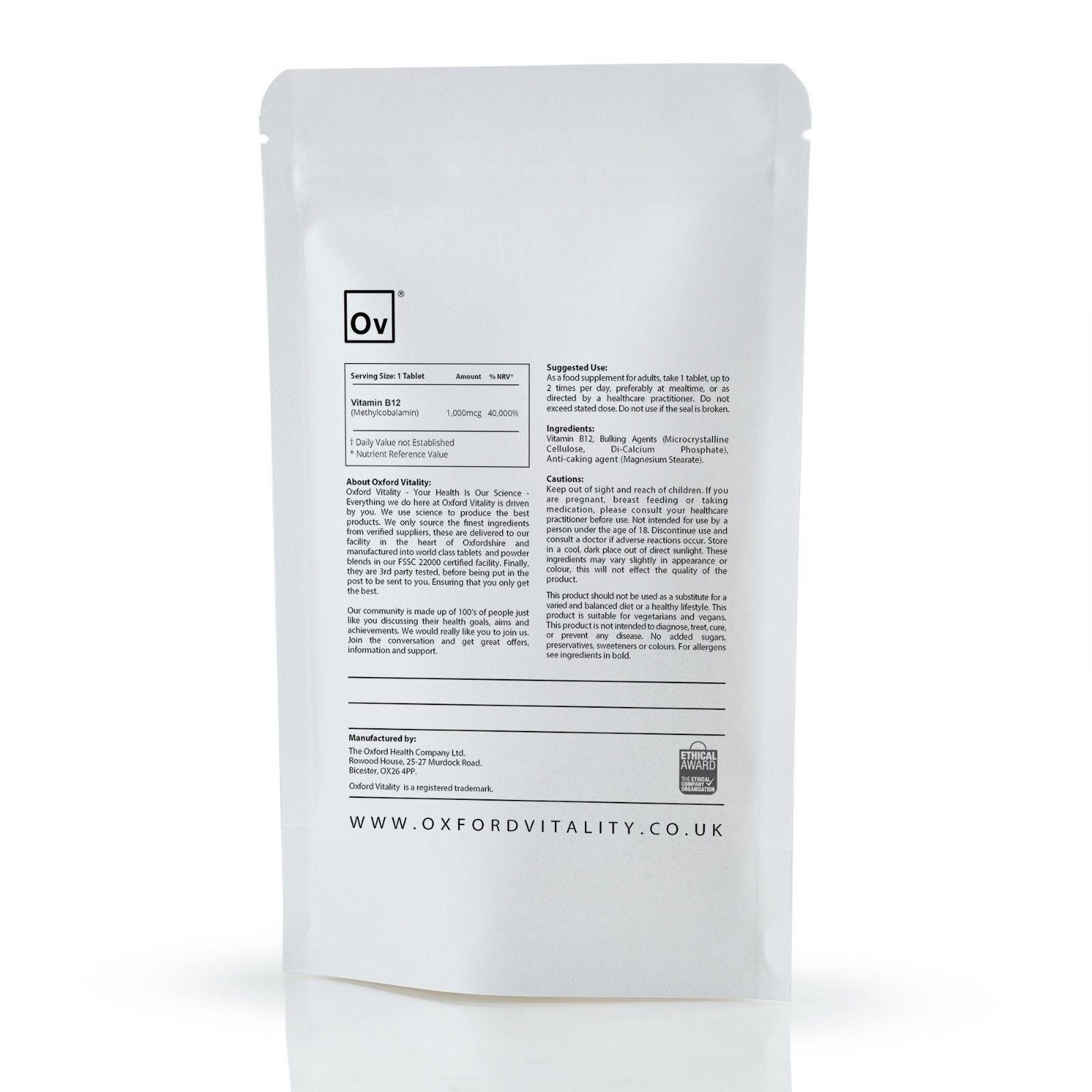 Comprimés de vitamine immunitaire B12 1000mcg Methylcobalamin Methyl Fatigue immunitaire vitamine 8fbe83