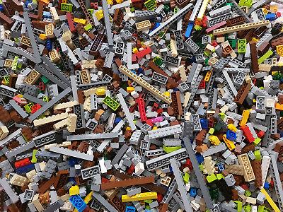 100g Lego® Nur Basic Steine Bunt Viele Farben Gemischt 0,1kg Niedriger Preis