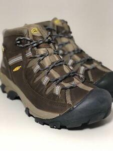 a48fd210e96 Details about Keen Women's Targhee II Mid WP Slate Black Flint Stone Boots  1004114
