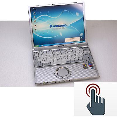 Mininotebook Panasonic Cft2 Écran Tactile 1024x768 900gr Facile M. Sd Carde