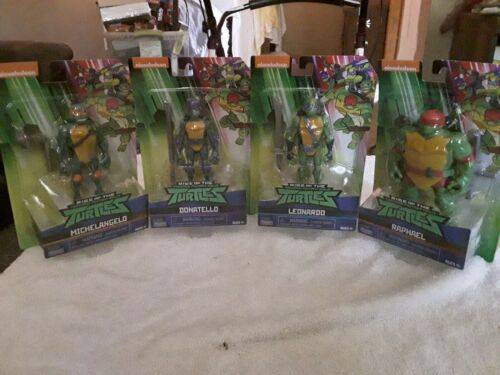Teenage Mutant Ninja Turtles Set de 4 figurines