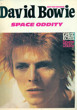 David Bowie Band songbook SPACE ODDITY Off the Record Guitar Tab Bass Ziggy book