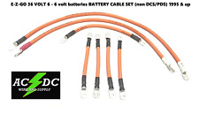 e-z-go txt series golf cart 2 gauge heavy duty 36 v battery cable wiring