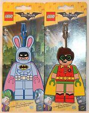 LEGO The Batman Movie EASTER BUNNY RABBIT ROBIN ID Backpack Luggage Tag DC Comic