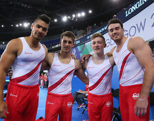 Max Whitlock and Kristian Thomas UNSIGNED photo - 1747 - English gymnasts