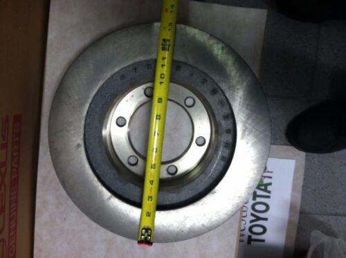 4Runner 2003-2009 Genuine Oem Toyota Front Brake Rotor /& OEM Pads and Shim Kit
