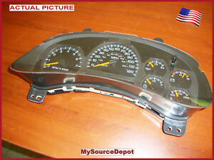 2006-2007-2008-2009-TRAILBLAZER-SPEEDOMETER-INSTRUMENT-CLUSTER