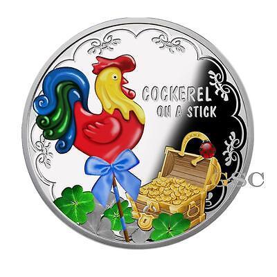 Niue Island 2017 1$ Jahr Des Hahnes Chinesischer Kalender .999 Silbermünze Gedenkmünzen Münzen