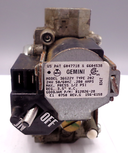 Gemini GAS VALVE 36G22Y Type 202 B12826-28