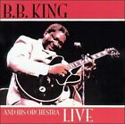 B.B. King and His Orchestra Live by B.B. King (CD, Sep-2003, Fabulous (USA))