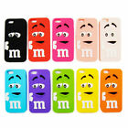 COQUE HOUSSE ETUI M M'S IPHONE 5/5S / 5C / SE silicone M&M'S