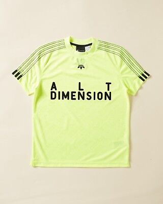 "CW0508 Men/'s Brand New Adidas /& /""Alexander Wang/"" Athletic Design Soccer Jersey"