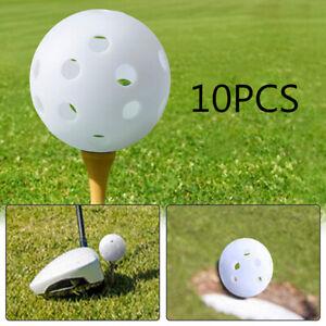 GI-KF-Toymytoy-10pcs-Plastic-Golf-Balls-White-Indoor-Practice-Training-Aids-Fo