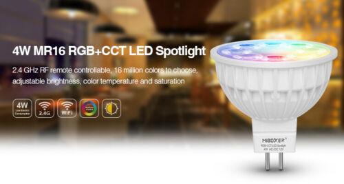 Milight 2.4G WLan GU10 E14 E27 MR16 RGB CCT RGBW LED Glühbirne Birne Spot Lampe