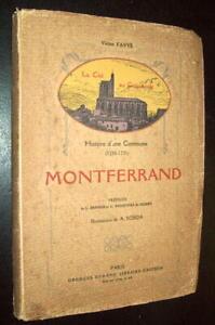 V-FAVYE-ETUDE-HISTOIRE-COMMUNE-CLERMOND-MONTFERRAND-BASTIDE-DESSINS-A-ROBIDA