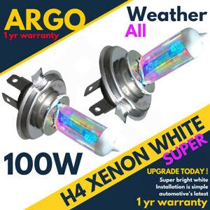 H4-100w-8500k-Xenon-HID-Super-efecto-Blanco-Faros-Lamparas-Bombillas-12v-Mira