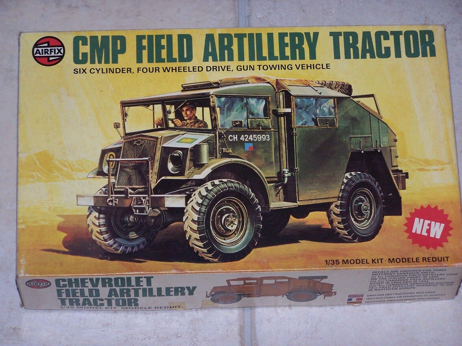Maquette AIRFIX 1 35ème CMP FIELD ARTILLERY TRACTOR