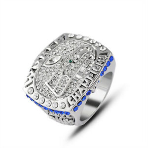 Men-039-s-Sport-Ring-2013-Seattle-Seahawks-Championship-Ring-Sport-Fans-Gift