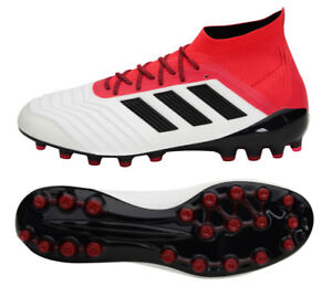 size 40 97e8a aaac9 Image is loading Adidas-PREDATOR-18-1-AG-CP9257-Soccer-Shoes-