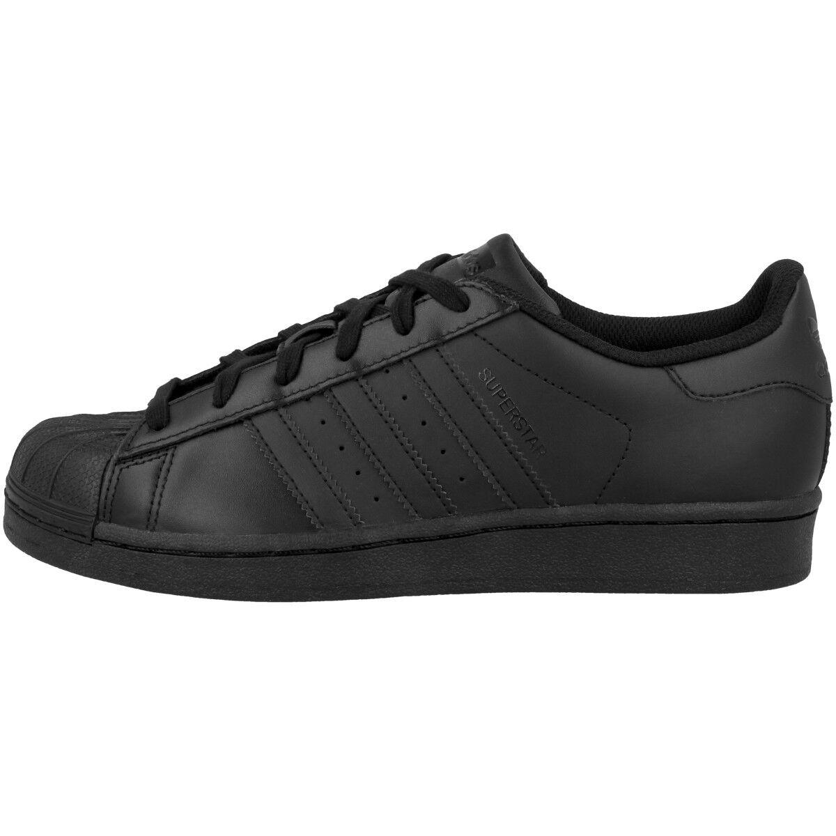 Adidas Superstar Foundation J Schuhe schwarz schwarz B25724 Retro Sneaker Dragon