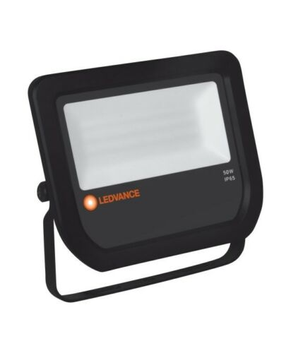 Ledvance Floodlight 50 avec 6500 K ip65 noir sans connecteur