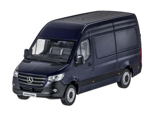 Mercedes-Benz Modellauto Sprinter Kastenwagen BR910 BR907 blau 1:43 NEU Origin