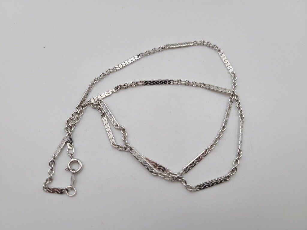 123765804313 Vintage S Design Links Bracelet Sterling Br 969